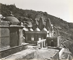 Gaumukhi Ganga from the North, Girnar [Junagadh]
